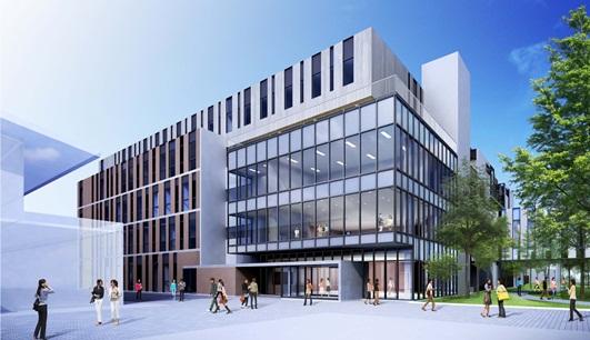 新校舎(正面全景)